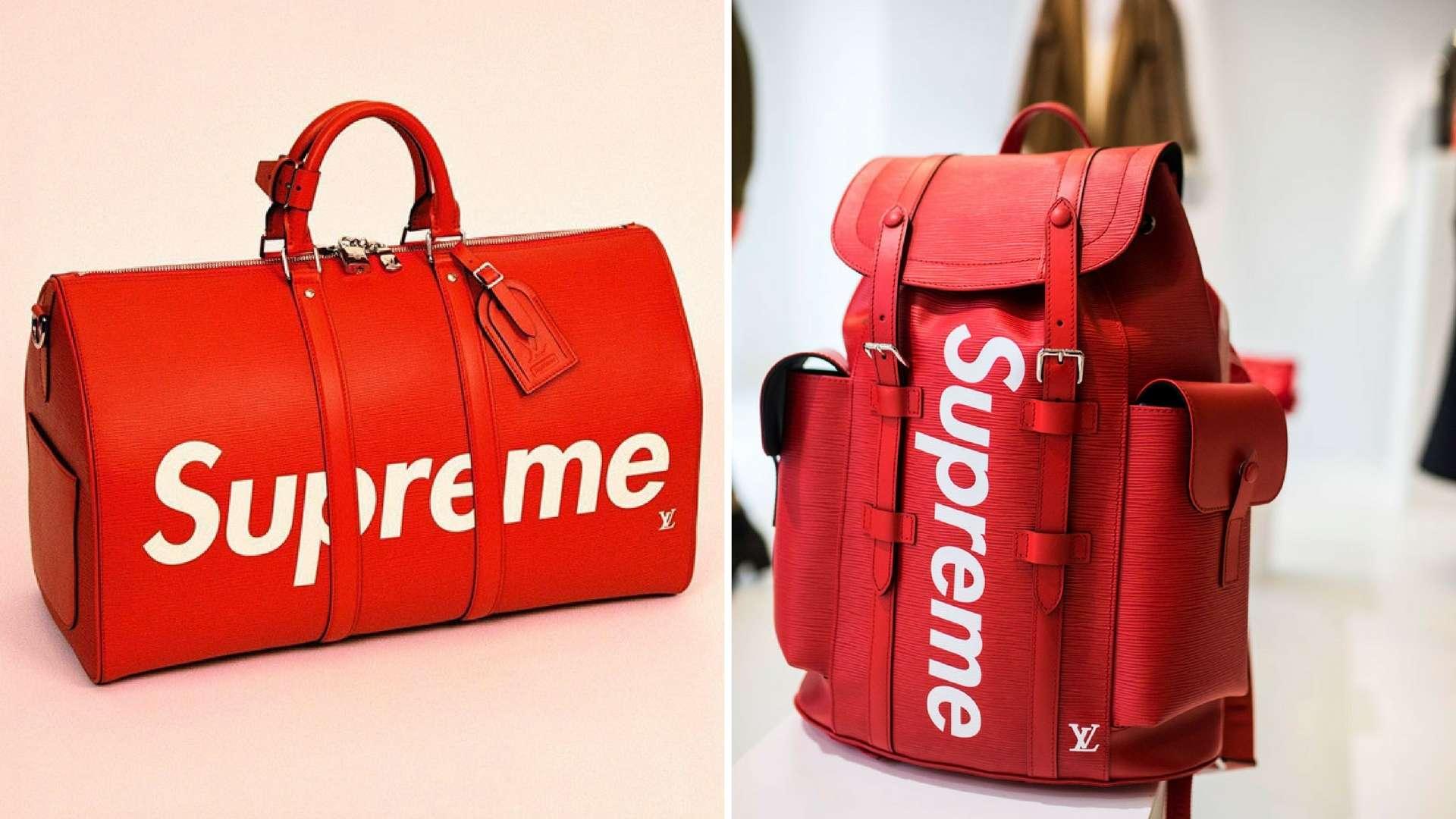 Supreme For Louis Vuitton Gon Fashion